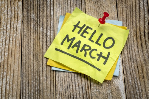 March weekend events hello DP