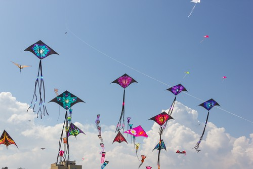 May weekend events kites DP