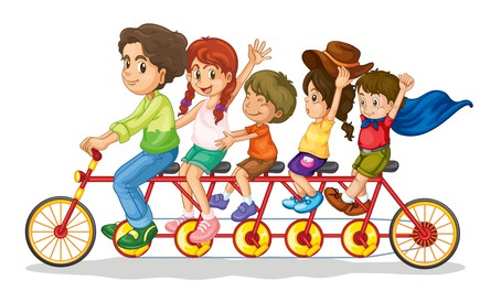 July weekday events family bike